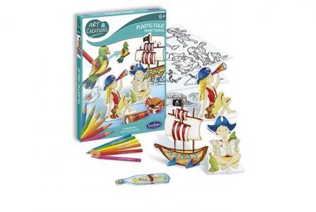 Набор для творчества Волшебный пластик Пираты SentoSpherE