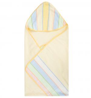 Полотенце для купания , цвет: желтый bq