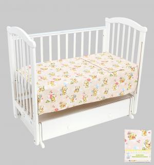 Комплект постельного белья , цвет: бежевый Leader Kids