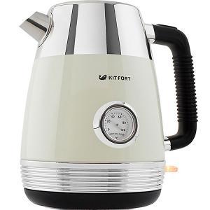 Электрический чайник Kitfort КТ-633 1,7 л GEOX. Цвет: бежевый
