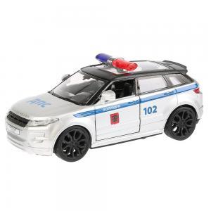 Металлическая инерционная машина  «Land Rover Range Evoque Полиция» 12.5 см Технопарк