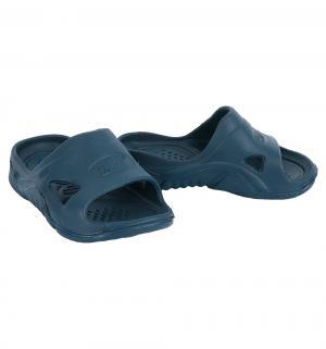 Шлепанцы , цвет: синий Дюна