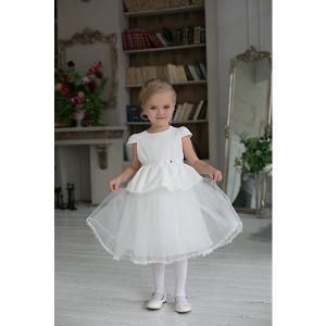 Нарядное платье Unona. Цвет: белый
