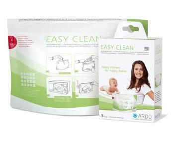 Пакеты для стерилизации в микроволновой печи Easy Clean 5 шт. Ardo