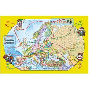 Карта-игра  Европа Кругосветка Издательство Ди Эм Би