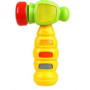 Музыкальная игрушка  Веселый молоточек Жирафики. Цвет: разноцветный