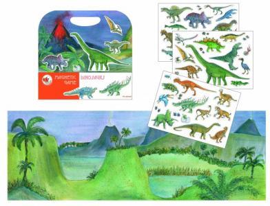Магнитная игра Динозавры 630665 Egmont