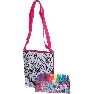 Набор для творчества Centrum Enchantimals Раскрась сумку, Сэйдж Сканк. Цвет: разноцветный