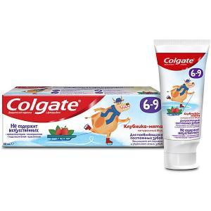 Детская зубная паста  клубника-мята с фтором, 6-9 лет, 60 мл Colgate