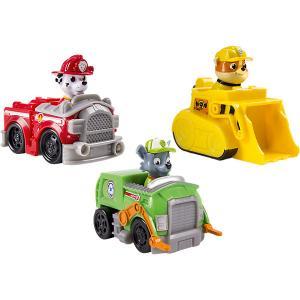 Набор из 3 маленьких машинок, Щенячий патруль, Spin Master