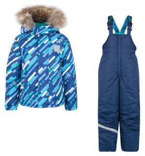 Комплект куртка/полукомбинезон  Космос, цвет: синий/голубой Stella