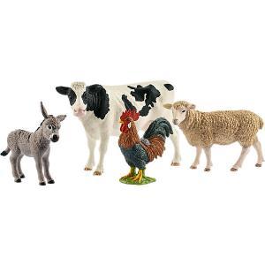 Коллекционный набор фигурок  Животные с фермы Schleich