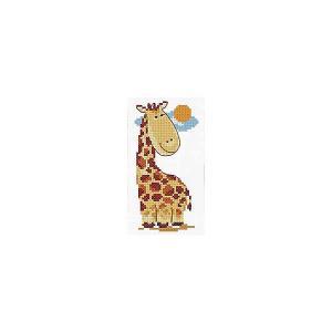 Набор для вышивания  Жирафик 7х13 см Алиса