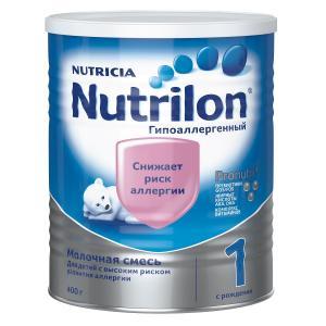 Молочная смесь  Гипоаллергенный 1 0-6 месяцев, 400 г Nutrilon