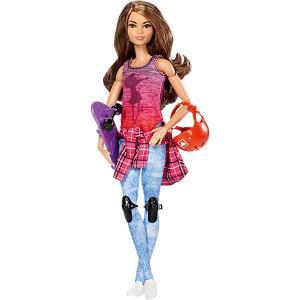 Кукла Скейтбордистка из серии Безграничные движения, Barbie Mattel