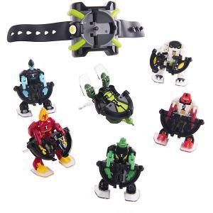Игровой набор Playmates Ben 10 «Омнизапуск Мегапак», часы и 6 фигурок. Цвет: разноцветный