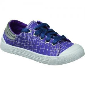 Кеды , цвет: фиолетовый Зебра