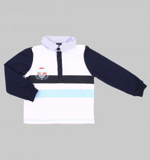 Джемпер , цвет: белый/синий GT