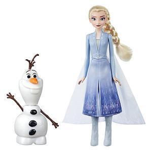 Игровой набор Disney Princess Холодное сердце 2 Эльза и Олаф Hasbro. Цвет: разноцветный