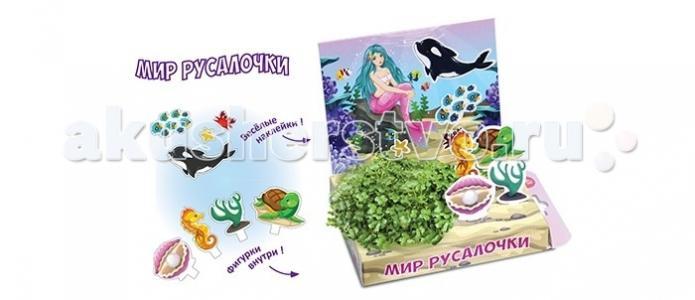 Детский набор для выращивания Мир Русалочки Happy Plant