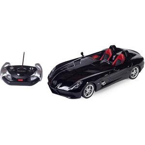 Радиоуправляемая машина  Mercedes-Benz SLR 1:12, чёрная Rastar. Цвет: черный