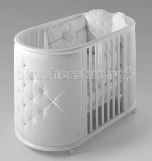 Кроватка-трансформер  Perla кроватка с матрасами Bambolina