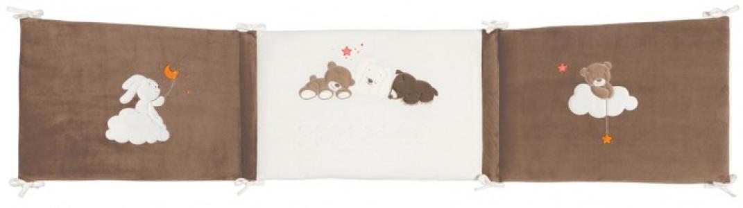 Бортик в кроватку  Mia & Basile Кролик и Мишка универсальный Nattou