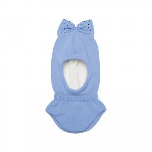 Шапка для девочки Junior Republic. Цвет: голубой