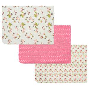 Комплект пеленка/шапка/игрушка  120 х 90 см, цвет: белый/розовый Lucky Child