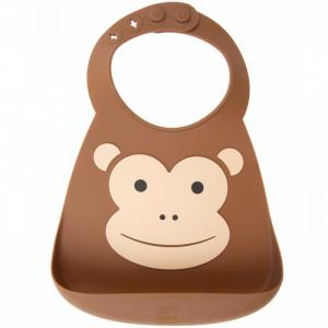 Нагрудник  Baby Bib Monkey Make my day