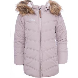 Утепленная куртка Luhta. Цвет: бежевый