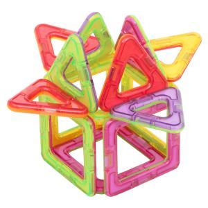 Магнитный конструктор  Магический магнит фиолетово-желтый Tongde