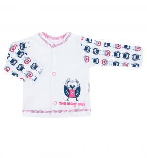 Кофта , цвет: белый/розовый Mamatti