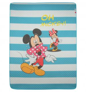 Покрывало  Mickey 160 х 200 см, цвет: голубой Нордтекс