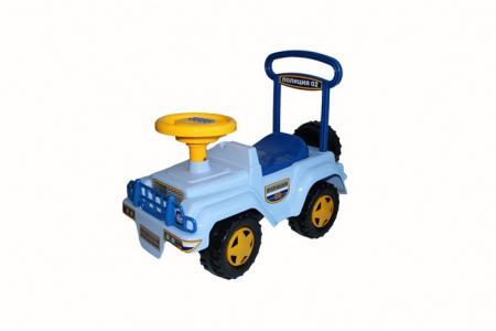 Каталка  Игрушка Автомобиль-каталка Полиция Музыкальный руль Спектр