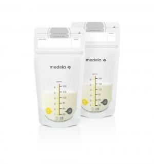 Пакеты  для хранения грудного молока одноразовые, 180 мл, 25 шт Medela