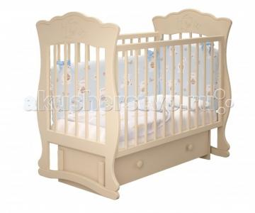 Детская кроватка  Елена-3 универсальный маятник Милано Можгинский лесокомбинат