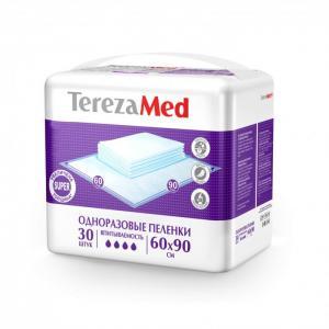 Пеленки одноразовые Super 60x90 30 шт. TerezaMed