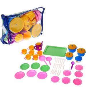 Игровой набор посуды  Позови гостей Пластмастер