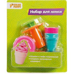 Набор для лепки из теста  Мороженое, с аксессуарами Color Puppy. Цвет: разноцветный
