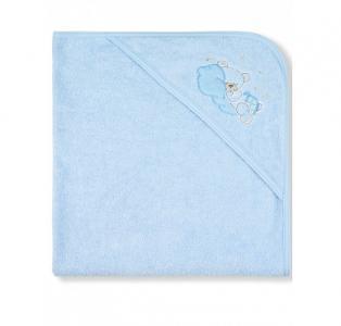 Пеленка-полотенце махровая Мишка на облаке 95х95 см Лео