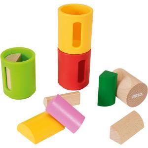 Развивающая игрушка Brio Формочки-сортеры, 10 деталей