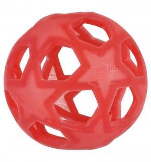 Прорезыватель  Мяч красный Hevea