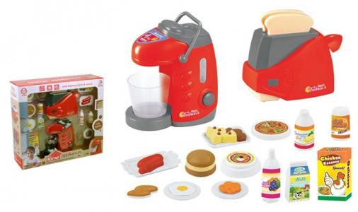 Помогаю маме Кухонная техника с продуктами аксессуарами ABtoys