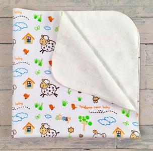 Пеленка  непромокашка Зоопарк 40х50 см СуперМаМкет
