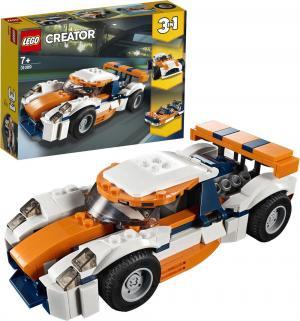 Конструктор  Creator 31089 Оранжевый гоночный автомобиль LEGO