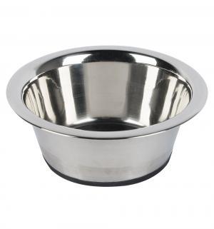 Миска для собак  стальная с резиновым дном, 450мл*13см I.P.T.S.