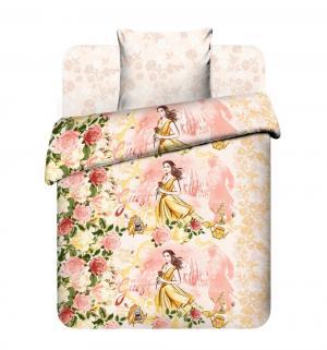 Комплект постельного белья  Красавица и чудовище, цвет: бежевый Василек