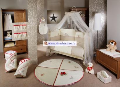 Комплект в кроватку  Ricordo Sestetto Long (6 предметов) Feretti