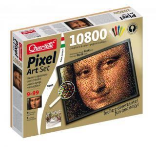 Пиксельная мозаика Джоконда (10800 элементов) Quercetti
